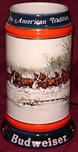 1990 Budweiser Holiday Beer Stein - An American Tradition - $19.95