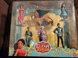 Disney Collection Princess Elena of Avalor 6 Piece Figurine Play-set NEW... - $15.35