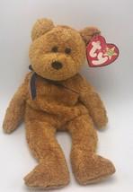 Ty Beanie Babies Fuzz The Brown Bear 1998 Date Code Error #1 - $4.99