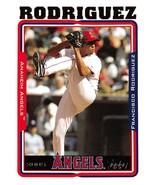2005 Topps #8 Francisco Rodriguez NM Near Mint Angels - $0.75