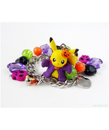 Pikachu Bracelet, Halloween Bracelet, Pokemon Jewelry, Halloween Jewelry... - $34.00