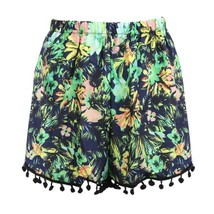 2018 Women Summer Shorts Feminino Hot Casual Shorts Elastic Waist Hawaii... - $23.70