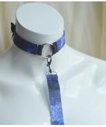 Made to Order - Kitten play collar and leash set - Nebula key - galaxy c... - $33.00