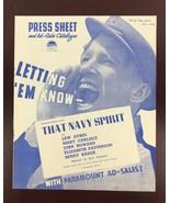 "1927 Movie Press Book Football ""That Navy Spirit"" 11.5""x 9.5"" - $70.13"