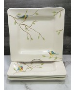 "Set of 4 Pier 1 Robin Square Dinner 11""  Plates - $55.44"