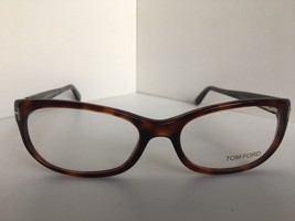 New Tom Ford TF 5229 TF5229 052 Brown 54mm Italy Rx Women's Eyeglasses F... - $99.99