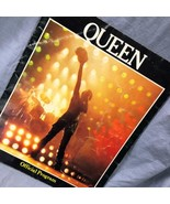 Queen U.S. Tour 1980 Official Program Freddie Mercury Brian May Roger Ta... - $27.83