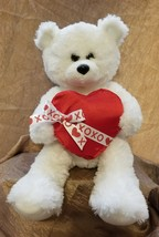 TY Beanie Plush Romantic Teddy Bear XOXO - $16.89