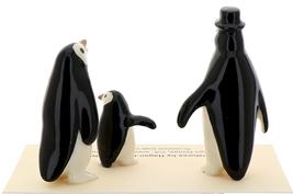 Hagen-Renaker Miniature Ceramic Bird Figurine Penguin Family Set image 3