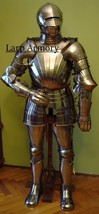 Medieval Wearable Gothic Renaissance Full Suit Of Armor Halloween Costume - $999.00