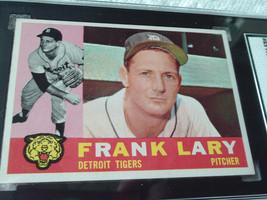 1960   TOPPS  # 85    FRANK  LARY    SGC  84    DETROIT  TIGERS   BASEBA... - $32.99