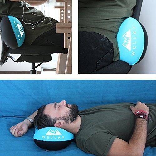 Chillax UltraLight Camping Pillow - Compressible, Compact, Inflatable, Pillow A
