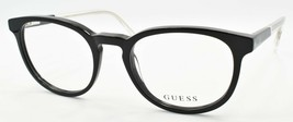 GUESS GU1973 001 Men's Eyeglasses Frames 49-19-145 Black / Clear - $44.80