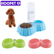 HOOPET® Pet Dog/Cat Food Drinking Water Dish Portable Feeder Bowl - $12.52+