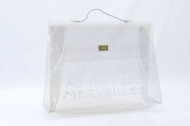 Hermes Vinyl Kelly Hand Beach Bag Souvenir De L'exposition 1997 sa1962 - $580.00