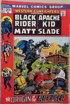 WESTERN GUNFIGHTERS #10 (1972) Marvel Comics Black Rider VG+ - $9.89