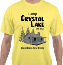 FRIDAY 13TH Crystal Lake Camp Counselor T-Shirt Halloween Costume White ... - $17.99