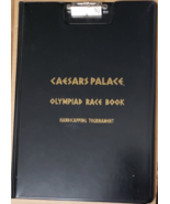 Caesars Palace Olympiad Race Book Handcapping Tournament Clipboard Folder - $25.95