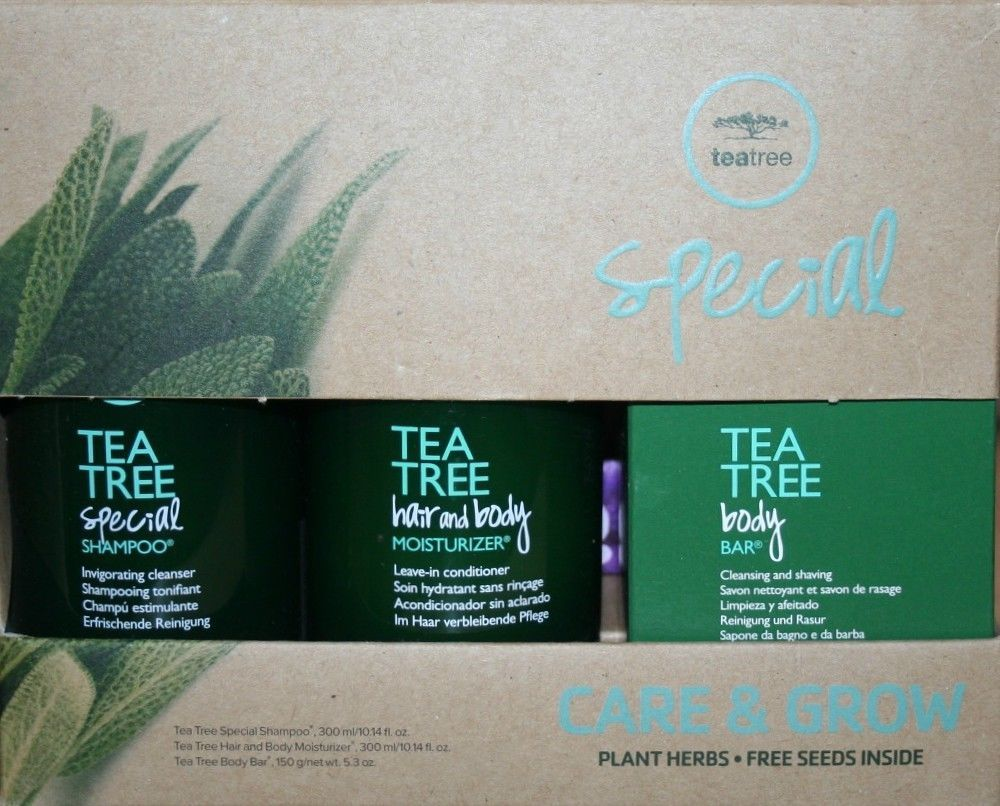 Paul Mitchell Special Tea Tree Shampoo, Conditioner and Bar 3pcs Set