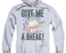 Mighty Mouse Give Me A Break retro cartoon superhero pullover hoodie CBS1587 image 2