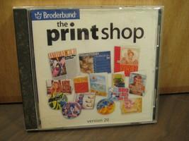 Broderbund The Print Shop Essentials v20 Windows 98/XP Desktop Publishin... - $12.25