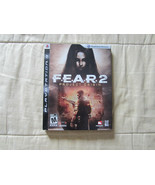 FEAR 2 Project Origin Sony Playstation 3 COMPLETE PS3 - $8.07
