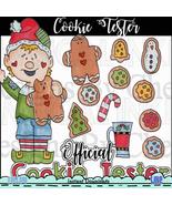 Cookie Tester Clip Art - $1.35