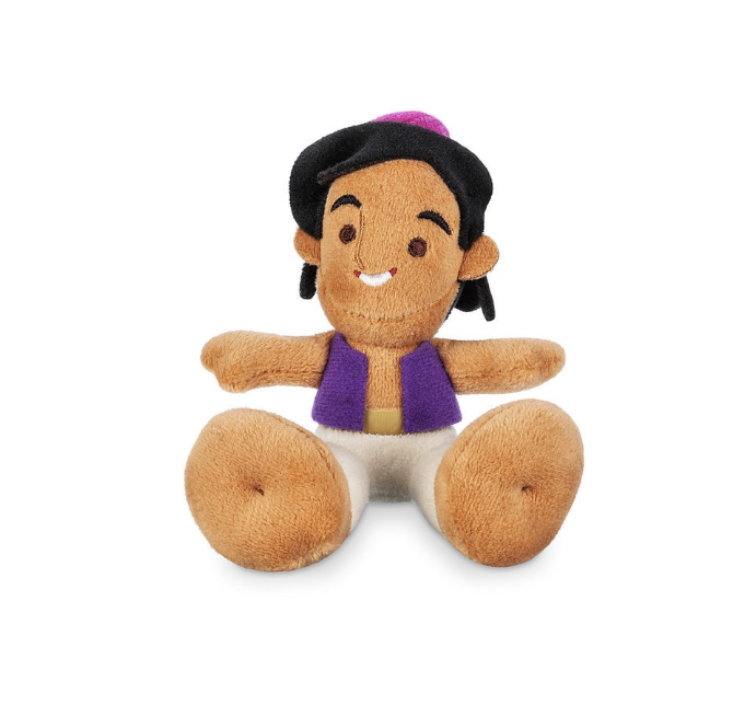 Disney Aladdin Tiny Big Feet Plush Micro New with Tags