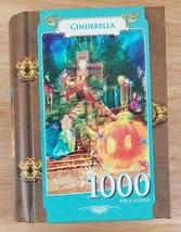 Puzzle 1000 Piece Cinderella Masterpieces Book Box Jigsaw BRAND NEW - $17.30