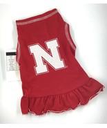 Nebraska Cornhuskers NCAA Cheerleader Girl Red Dress / Dog Cat ? / XXS X... - $12.79