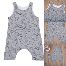 2017 Pudcoco Cute Newborn Toddler Baby Boy Fashion Brand new Romper Slee... - $9.69