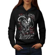 Devil Satan Hell Skull Sweatshirt Hoody Hell Life Women Hoodie - $21.99+