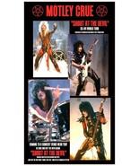 "Motley Crue ""Shout At The Devil"" 24 x 42 ""Fantasy"" 1983 - 84 Concert Tou... - $55.00"