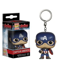 Funko Pocket Pop Keychain : Avengers Age of Ultron Captain America Actio... - $6.48
