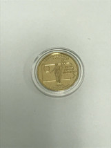1999 P Gold Plated Pennsylvania State Quarter UNC w FREE Capsule FREE SH... - $4.24