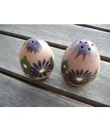Vintage Salt and Pepper Shakers Made In Mexico Ceramic  - $14.99