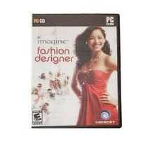 Imagine Fashion Designer PC Game Ubisoft Rated E CD-ROM 2007 - $10.70