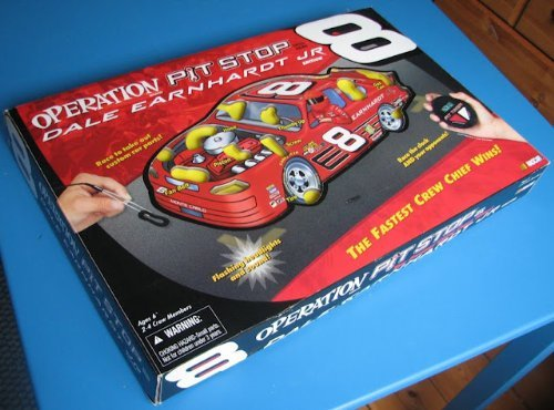 Operation Pit Stop Dale Earnhardt Jr Edition SKILL GAME NASCAR #8 13 INCH X 20 I