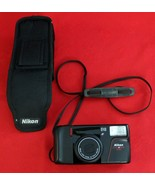 Nikon Zoom Touch 400 Point and Shoot Film Camera 35mm - CLEAN! with carr... - $33.00