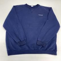 Vintage Carhartt Sweatshirt Men's 2XL XXL Long Sleeve Navy Crew Neck - $24.95
