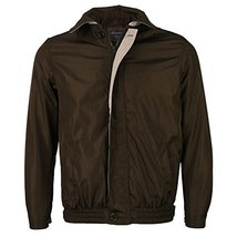 Men's Microfiber Golf Sport Water Resistant Zip Up Windbreaker Jacket Benny (XS,