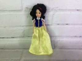 "Disney Store Princess Snow White Mini Girl Doll 5"" With Dress - $23.75"