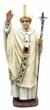 Catholic Pope Pontiff Francis Carrying Crucifix Benediction Blessing Fig... - $34.64