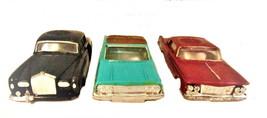 """3 1960's Ideal Motorific 4 1/2"""" Slot Car Shells - $34.95"""
