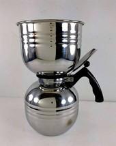 Nicro Stainless Steel 8 Cup Vacuum Coffee Brewer Maker Model 1512 - $98.99