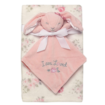 Baby Starters 2-Piece Snuggle Buddy Toy Rattle and Plush Baby Blanket Gift Set f - $23.94