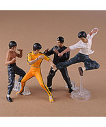 9-13cm 4pcs/set Bruce Lee Action Figures PVC brinquedos Collection Figur... - $22.99