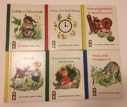 Vintage Golden Hours Library Series Books Miniature Lot of 6 Scarry Roja... - $13.99