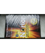 Symantec Norton : Internet Security 2011 Software For up to 3pcs new and sealed  - $13.79