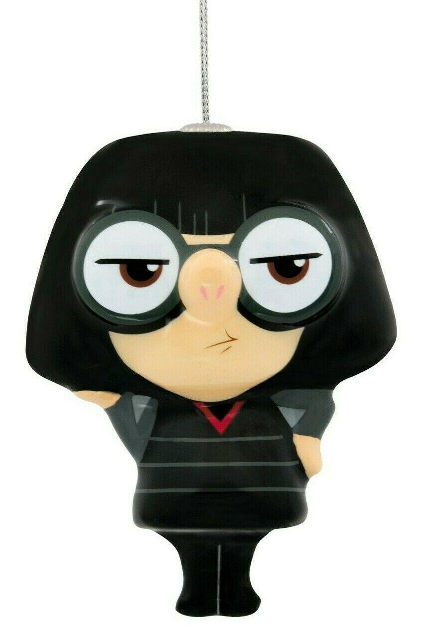Hallmark The Incredibles 2 Edna Mode Christmas Decoupage Shatterproof Ornament